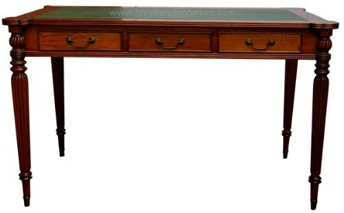Regency 3 Drawer Writing Desk